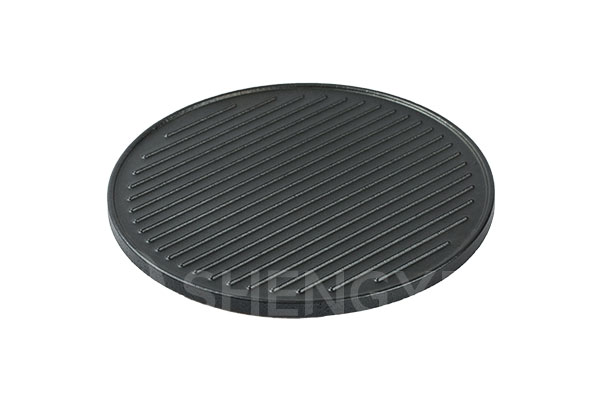 Bakeware supplier wholesale glazed non-stick steak cooking stone for oven or grill SYGS340RD