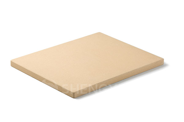 Rectangular cordierite pizza baking stone SYNS1215INRR